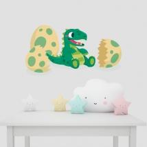 Vinilos para bebés dinosaurio