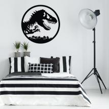 Vinilos decorativos y pegatinas dinosaurio