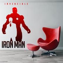 Vinilos marvel iron man invencible