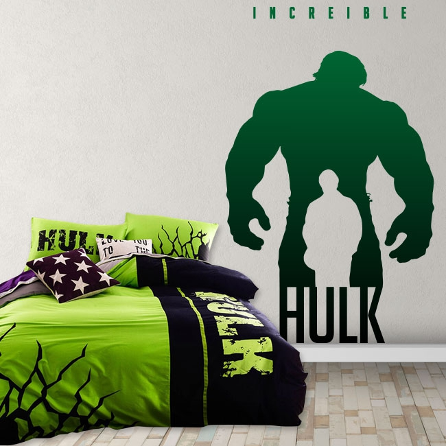 Vinilos marvel hulk increíble