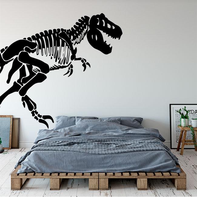 Vinilos decorativos infantiles o juveniles dinosaurio