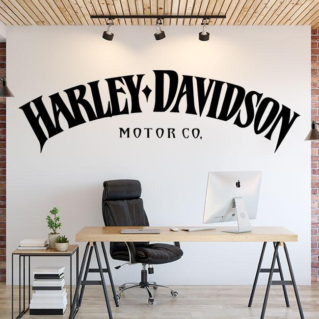 Pegatinas de vinilos harley davidson