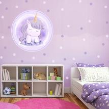 Vinilos juveniles o infantiles unicornio