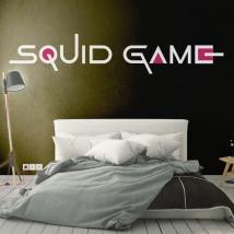 Vinilos decorativos netflix squid game