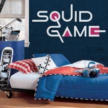 Vinilos decorativos y pegatinas netflix squid game