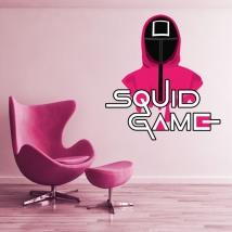 Vinilos y pegatinas netflix squid game