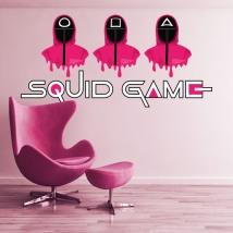 Vinilos adhesivos netflix squid game