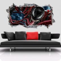 Vinilos decorativos 3d marvel venom