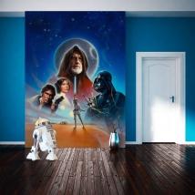 Fotomurales star wars una nueva esperanza